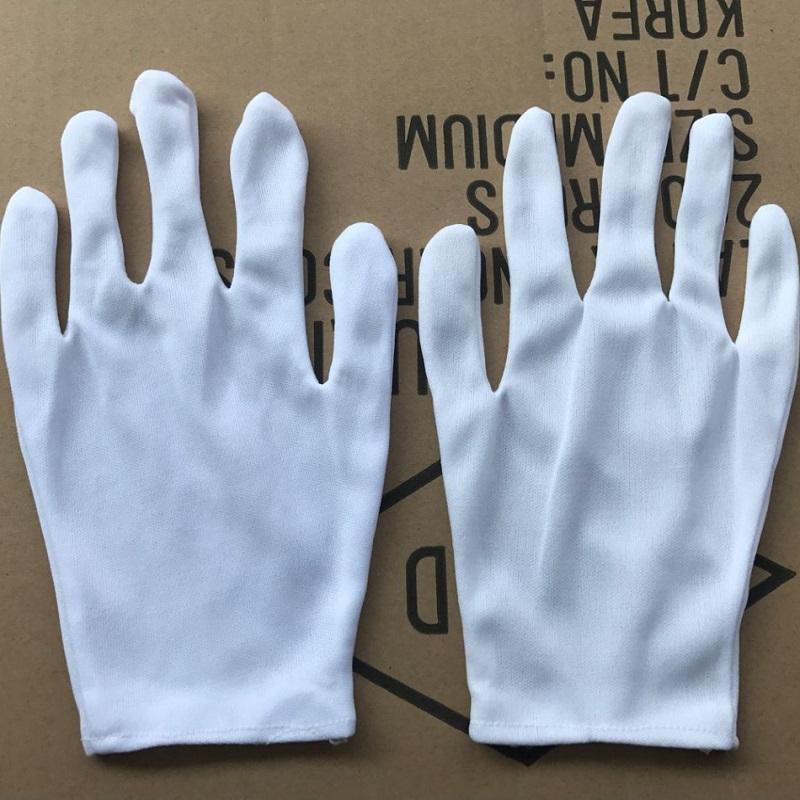 (中厚)12g尼龙手套 作业手套厂 作业手套尼龙 手套加工厂 白色 打/12双